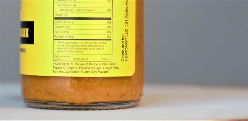 Hot Ones Last Dab Reduxx Ingredients