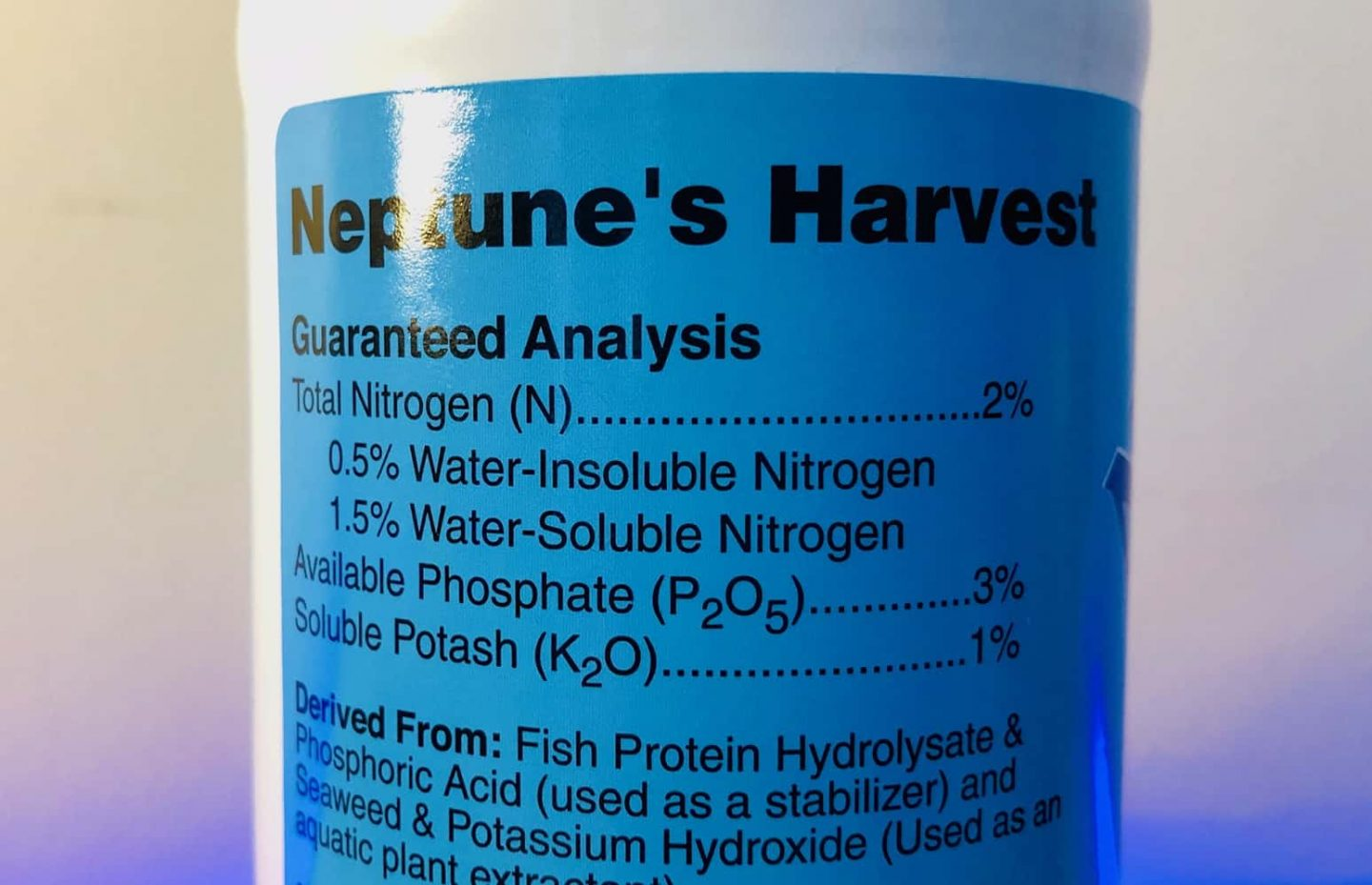 Neptune's Harvest Fertilizer