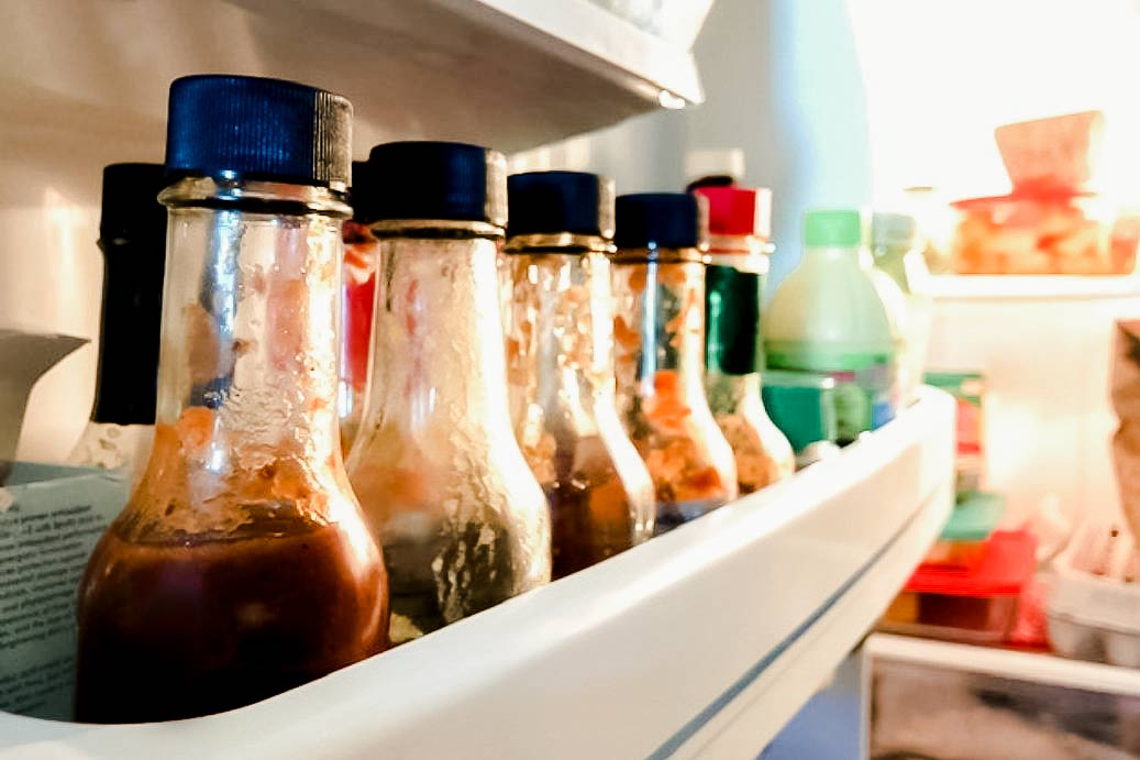 Hot Sauce In Fridge