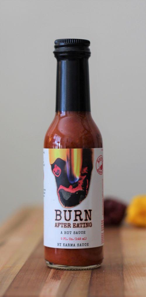 Burn After Eating Hot Sauce