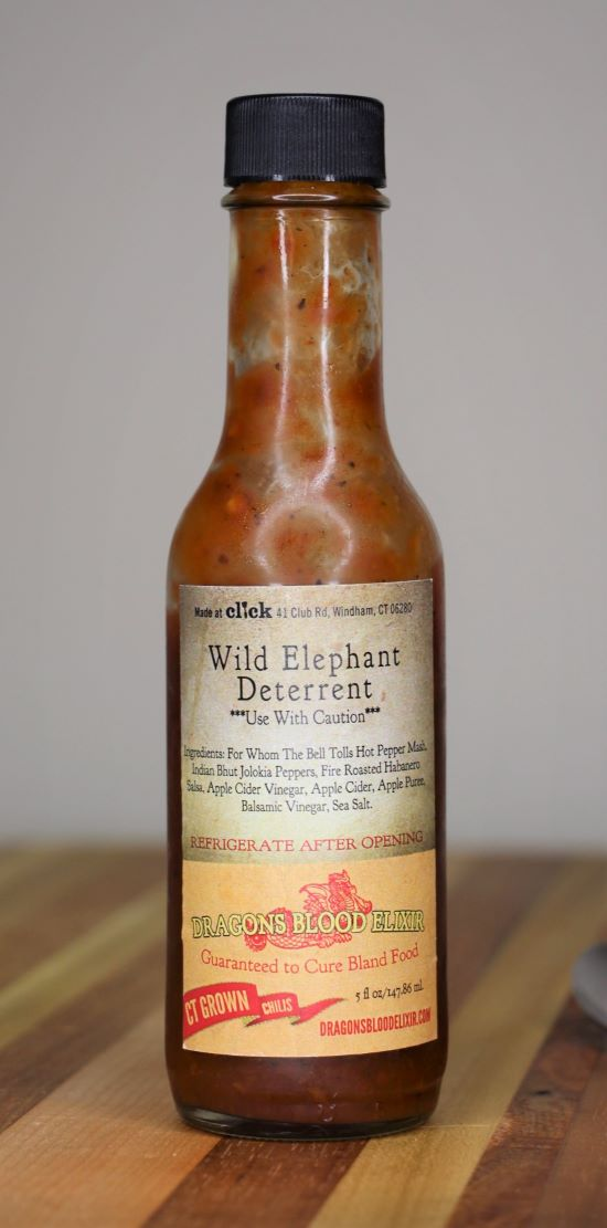 Wild Elephant Deterrent Hot Sauce