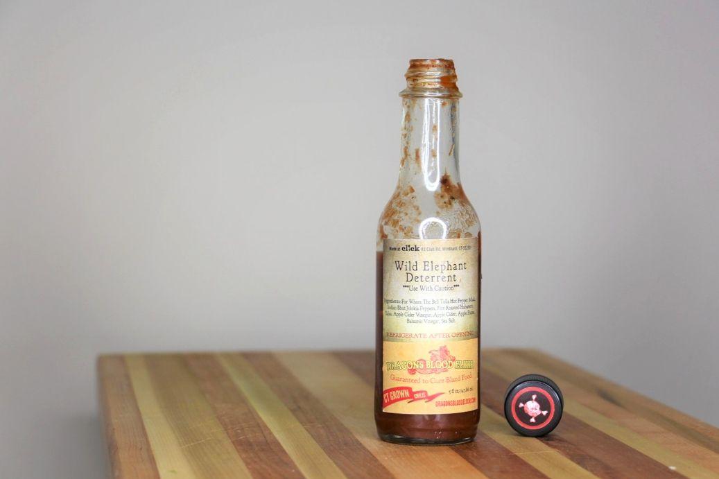 Wild Elephant Deterrant Hot Sauce