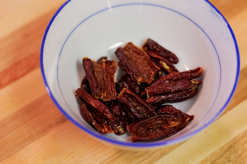 Dried Jalapeno Peppers
