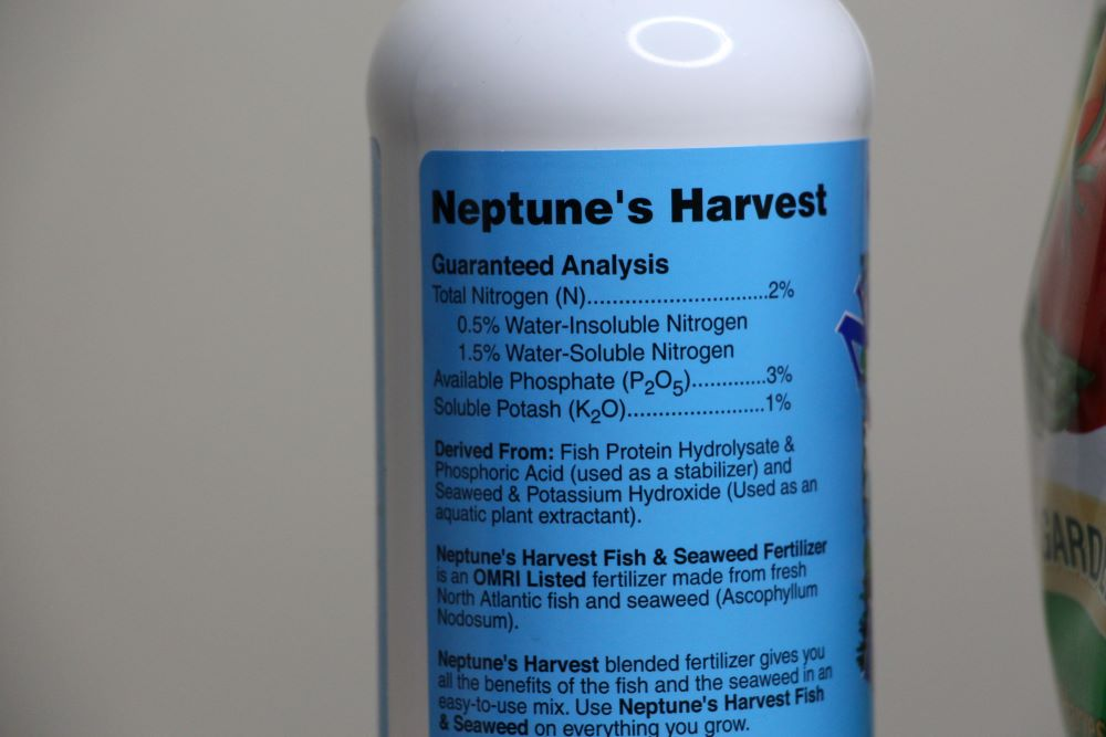 Neptunes Harvest Ingredients