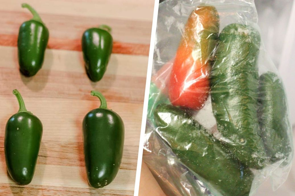 How To Freeze Jalapenos