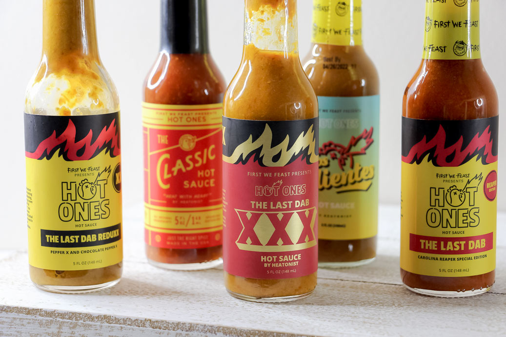 hot ones hot sauce box collection
