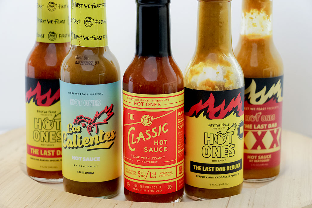 Hot Ones Hot Sauces
