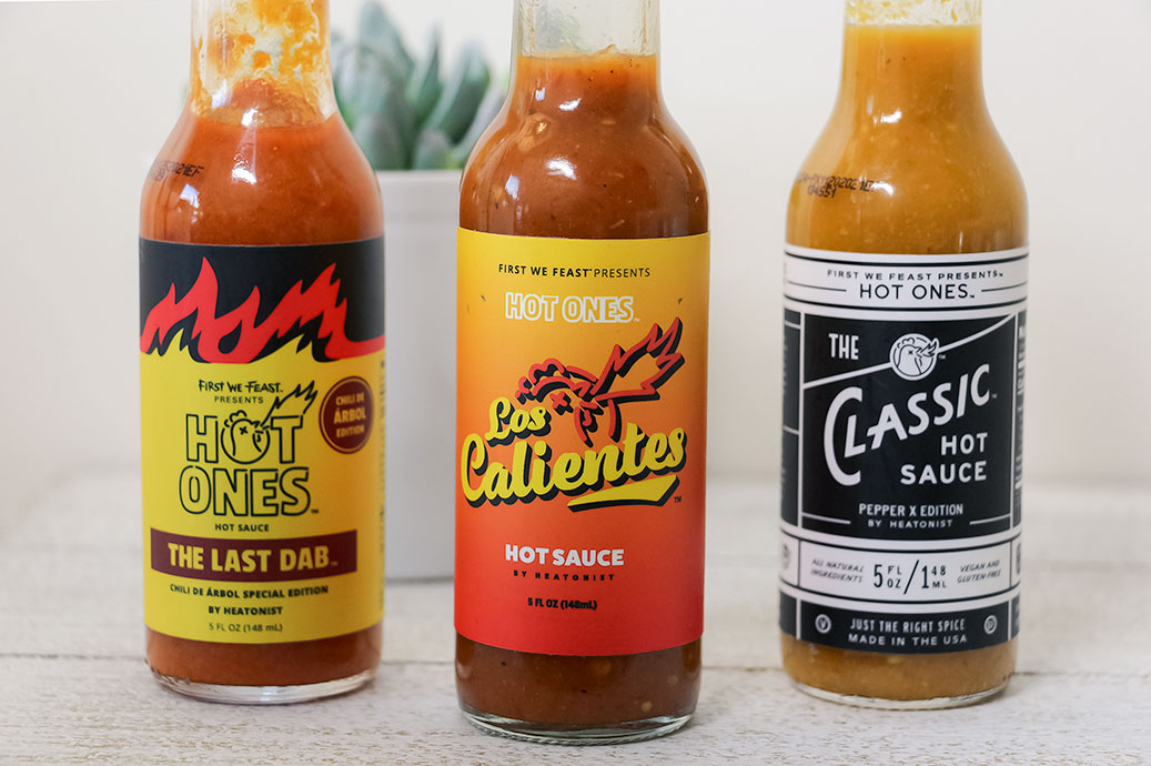 Hot Ones- 3 New Sauces