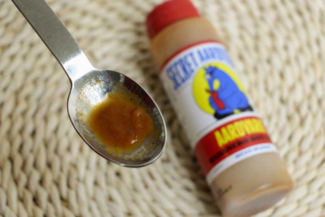 Secret Aardvark Hot Sauce Consistency