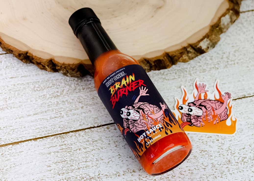 Brain Burner Hot Sauce