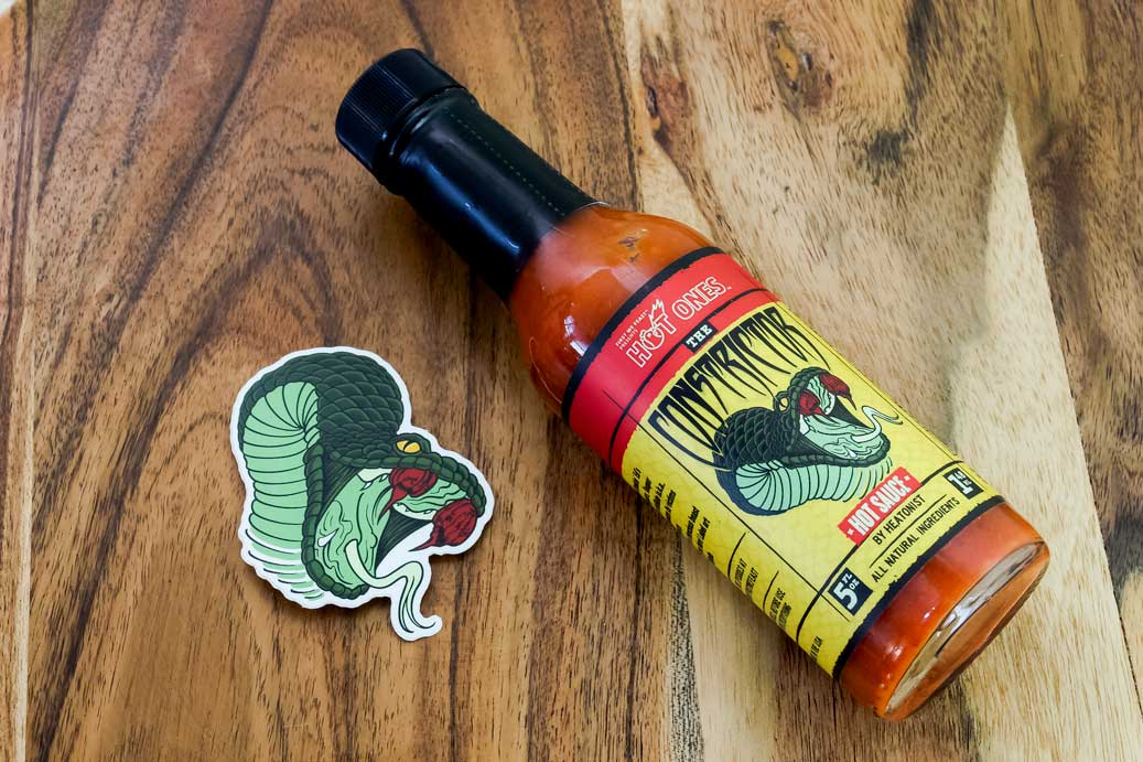 The Constrictor Hot Sauce