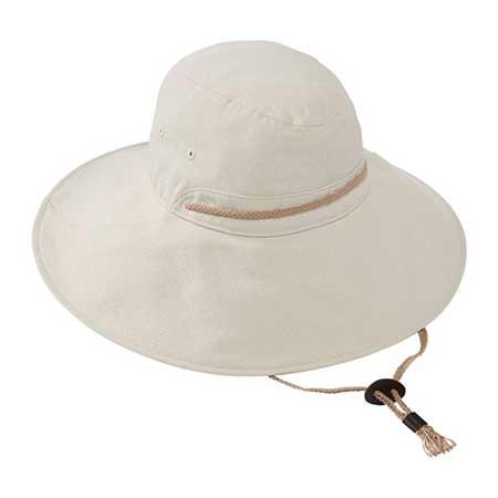 cotton twill garden hat
