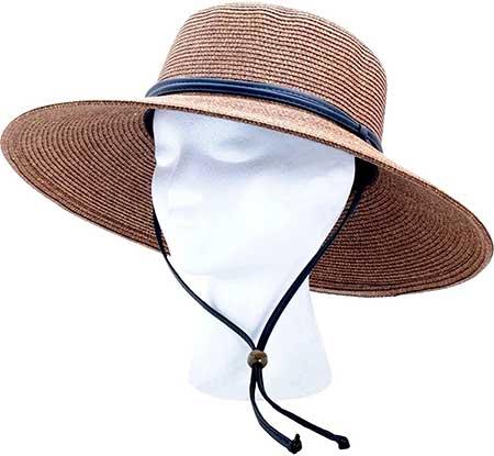 braided sun hat