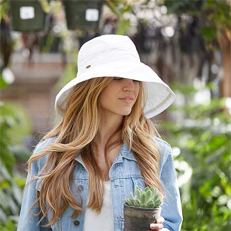Handmade Cotton Gardening Hat