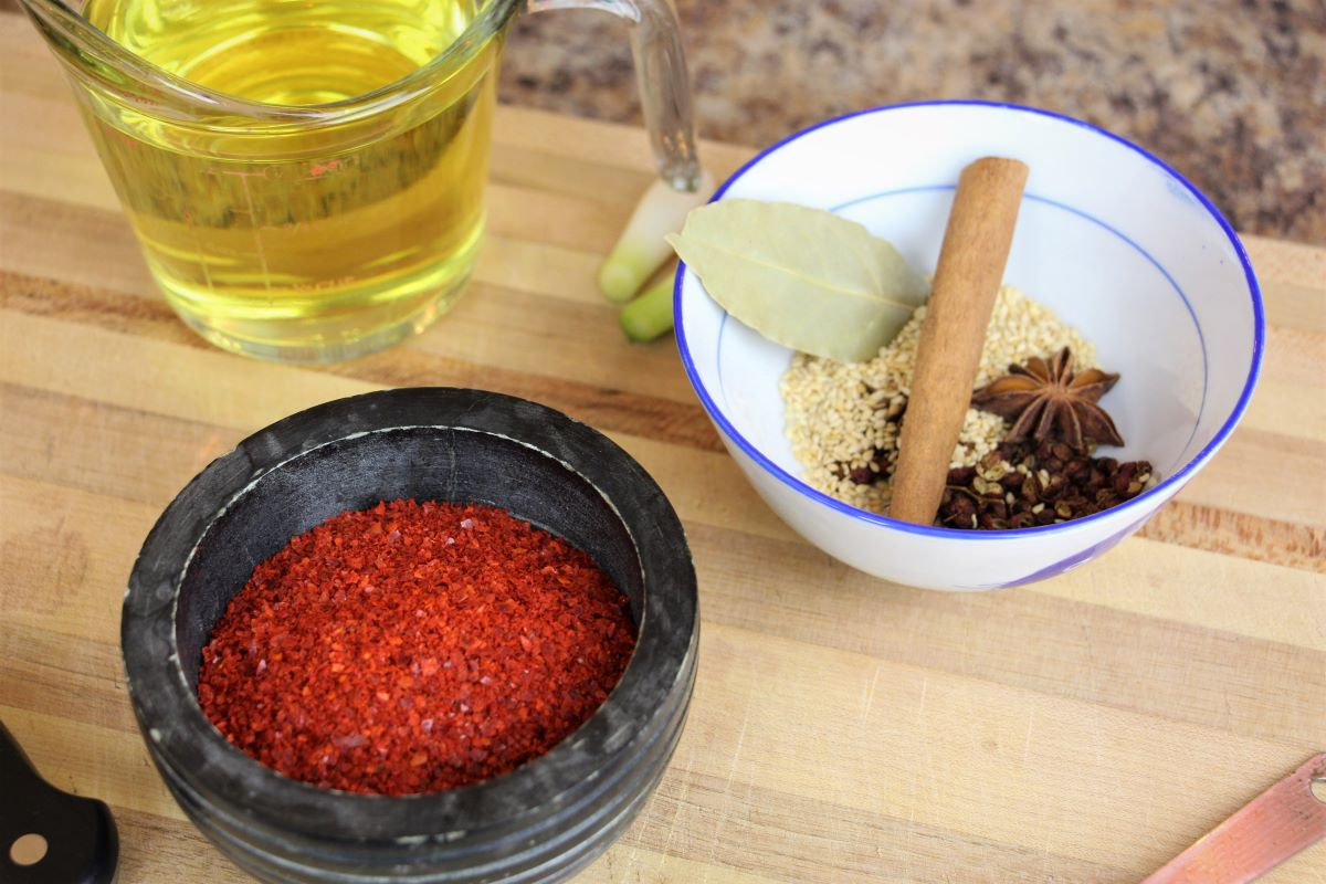 Chili Oil Ingredients