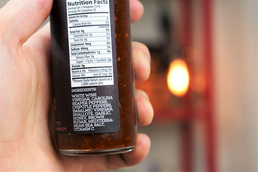 SeaFire Gourmet Reaper Ingredients