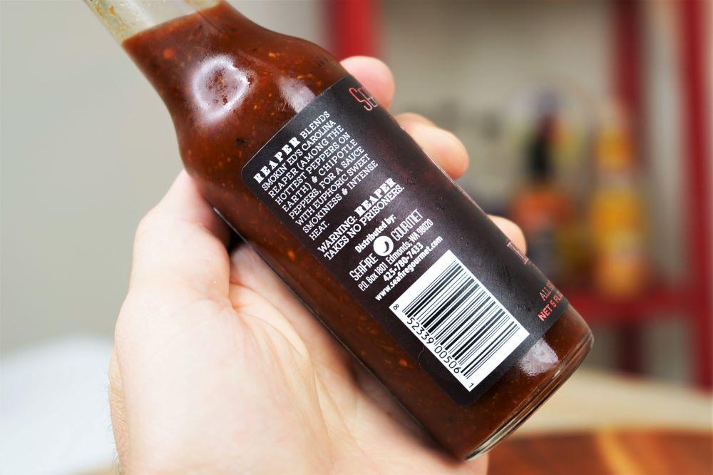 SeaFire Gourmet Reaper Sauce Bottle