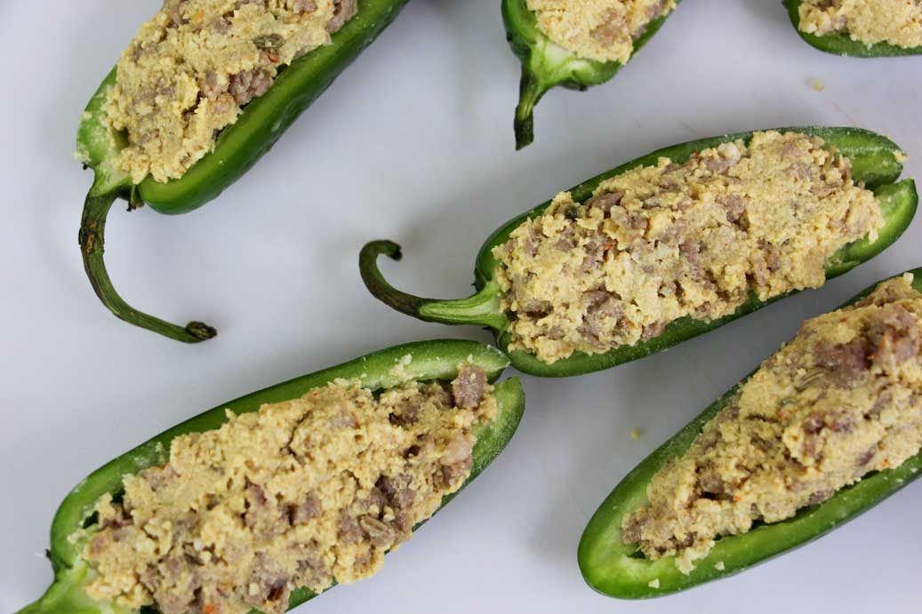Dairy free jalapeno poppers