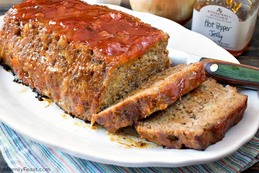 Pepper Jelly Meatloaf (Recipes Using Hot Pepper Jelly)