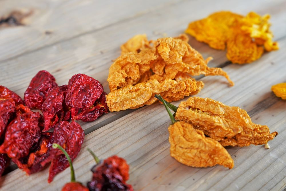 Dehydrated Ghost Peppers