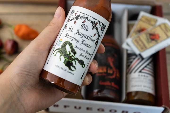 Stinging Lizard Hot Sauce