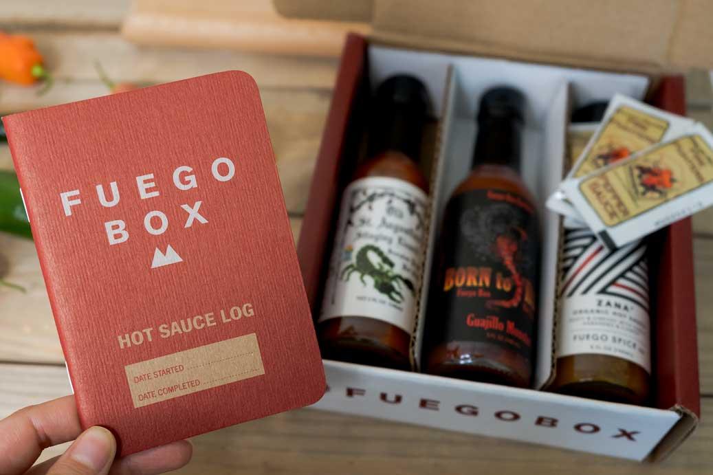 Hot Sauce Log Book