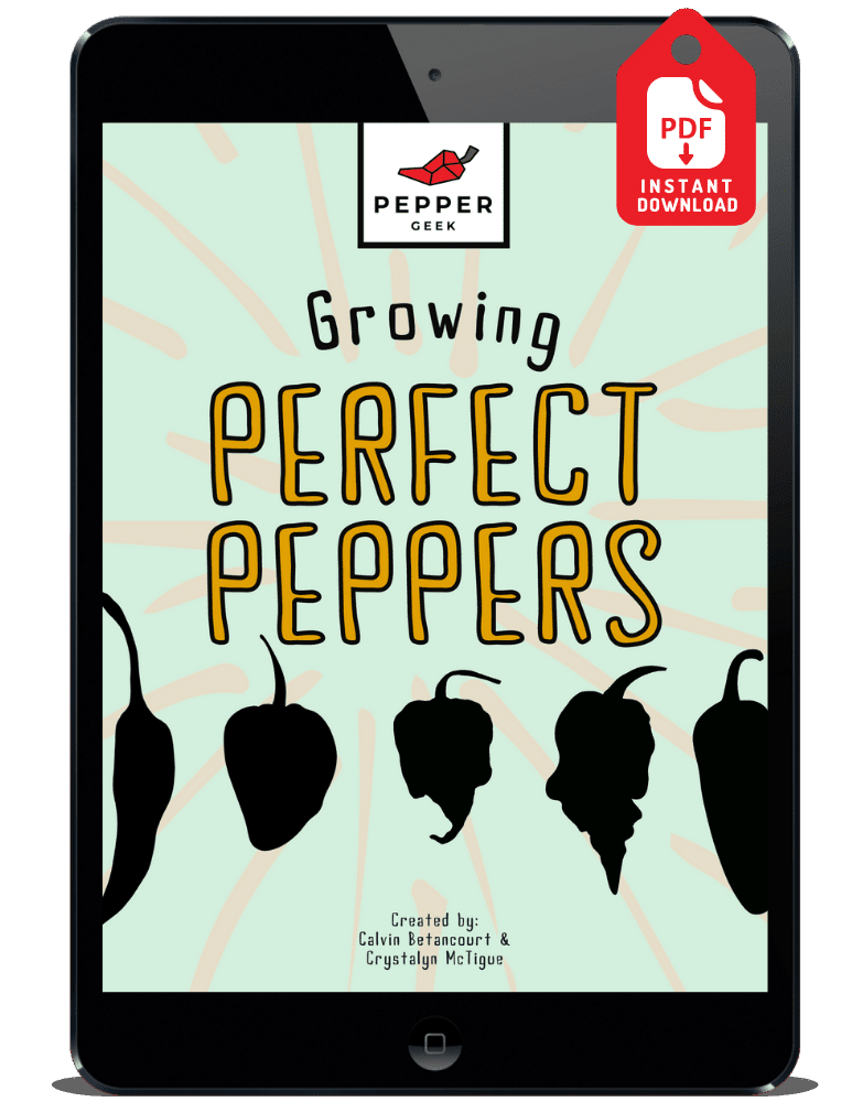 Growing Peppers Book