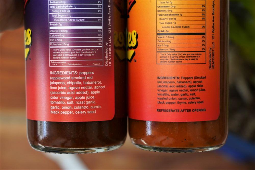 Los Calientes Barbacoa Ingredients