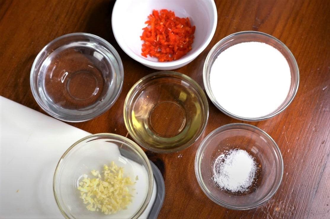 Sweet chili sauce ingredients
